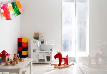 Minimalist Playroom